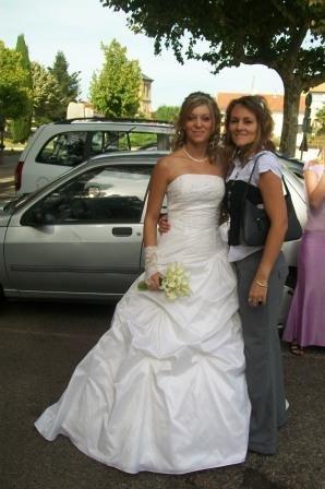 Ah bah oui ... moi-aussi je voulais ma photo avec la mariée !