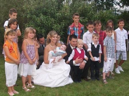 La photo avec tous les enfants ...