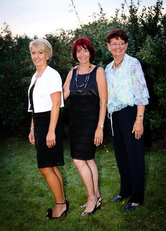 Mes trois tantes, les sisters ...